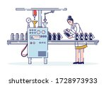 concept of pharmaceutics and... | Shutterstock .eps vector #1728973933