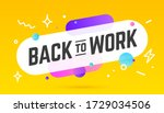 banner  poster  speech bubble...   Shutterstock .eps vector #1729034506