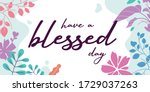 love greeting quotes have a... | Shutterstock .eps vector #1729037263