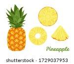 Pineapple Set. Whole Pineapple...
