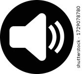sound   music button vector...