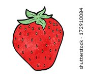 cartoon strawberry | Shutterstock .eps vector #172910084