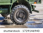 Truck Wheel Is A Part Of...