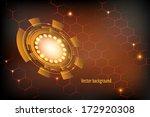 vector technology background  | Shutterstock .eps vector #172920308