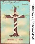 religious easter poster  ...   Shutterstock .eps vector #172924088
