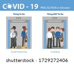 info graphic do and don't... | Shutterstock .eps vector #1729272406