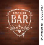 alcohol,ale,bar,beer,beverage,bitter,brewed,brewery,brick,brickwork,brown,decor,decoration,decorative,design