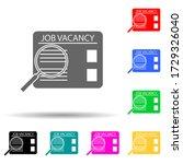 job search multi color style...