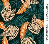 original seamless tropical...   Shutterstock .eps vector #1729326859