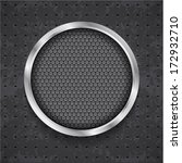 abstract black grille | Shutterstock .eps vector #172932710
