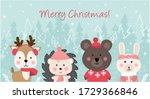 merry christmas and happy new... | Shutterstock . vector #1729366846