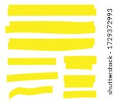 highlight marker. highlight...   Shutterstock .eps vector #1729372993
