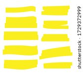 highlight marker. highlight...   Shutterstock .eps vector #1729372999