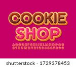 vector delicious logotype... | Shutterstock .eps vector #1729378453