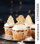 Spice Cupcakes With Cream...