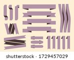 collection of celebrations... | Shutterstock . vector #1729457029