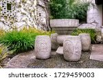 Traditional Chinese Stone Tabl...