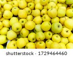 Local Produce Yellow Apples...