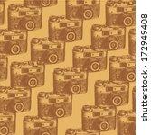 retro photo camera  vintage... | Shutterstock .eps vector #172949408