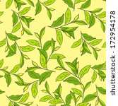 colorful background with leaves.... | Shutterstock .eps vector #172954178