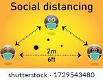 vector illustration of three...   Shutterstock .eps vector #1729543480