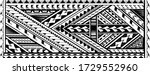 tribal art tattoo sleeve in... | Shutterstock .eps vector #1729552960