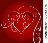 happy valentine's day  | Shutterstock .eps vector #172955678