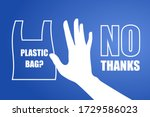 problem plastic pollution.... | Shutterstock .eps vector #1729586023