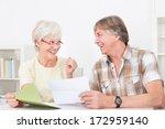 portrait of happy senior couple ... | Shutterstock . vector #172959140