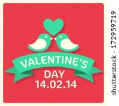 valentine's day collection of...   Shutterstock .eps vector #172959719