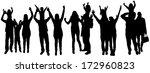 vector illustration with family ... | Shutterstock .eps vector #172960823