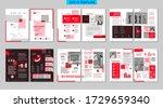 brochure creative design.... | Shutterstock .eps vector #1729659340