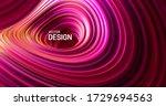 purple striped surface. liquid...   Shutterstock .eps vector #1729694563