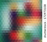 background geometric pattern.... | Shutterstock .eps vector #172973108