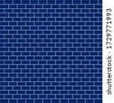 subway tile seamless pattern  ... | Shutterstock . vector #1729771993