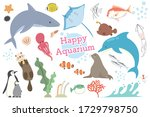 set of illustrations of various ... | Shutterstock .eps vector #1729798750