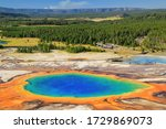 Aerial View Of Grand Prismatic...