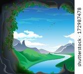 mountains  caves  mountain... | Shutterstock . vector #172987478