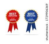 best employee of the month...   Shutterstock .eps vector #1729906369