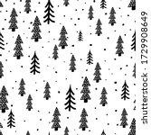Winter Forest Scandinavian Hand ...