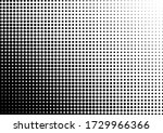 monochrome dots background.... | Shutterstock .eps vector #1729966366