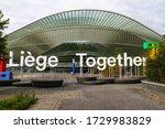 li ge  belgium  april 28  2020. ... | Shutterstock . vector #1729983829