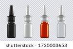 realistic mock up bottles for...   Shutterstock .eps vector #1730003653