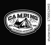 camping and hiking logo design  ...   Shutterstock .eps vector #1730012443