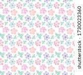 raster floral spring summer... | Shutterstock . vector #1730023360