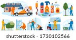 pest control services  insects... | Shutterstock .eps vector #1730102566
