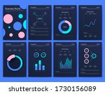 modern infographic vector... | Shutterstock .eps vector #1730156089