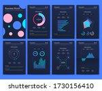 modern infographic vector... | Shutterstock .eps vector #1730156410