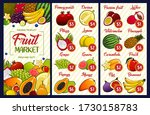fruit price  farm market or... | Shutterstock .eps vector #1730158783