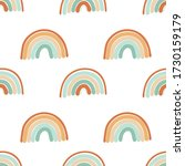 seamless pattern of hand drawn...   Shutterstock .eps vector #1730159179